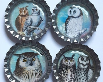 Owl Magnets cute owl magnets owl party favors