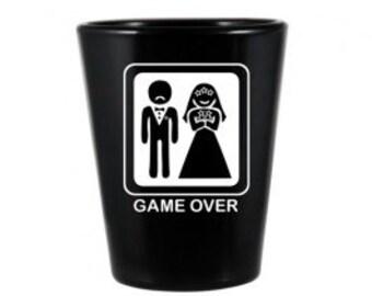 Game Over Wedding Shot Glass - Set of 6