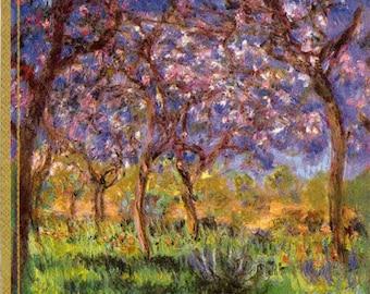 Impressionist Decoupage Napkins   Monet's Springtime at Giverny   Art Napkins   Spring Napkins   Monet Napkins   Paper Napkins for Decoupage