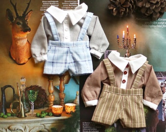 Doll clothes for Yosd size.
