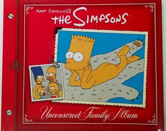 The Simpsons Uncensored Family Album by Matt Groening (1991, Paperback)