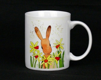Daffodils Are So Cheery, Ceramic Mug