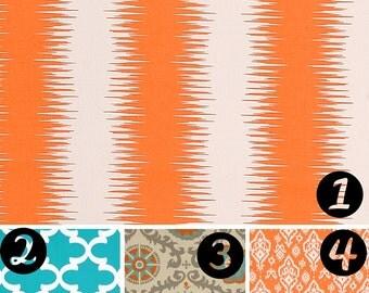 Orange Throw Pillow - Cushion Covers - Orange Decorative Sofa Pillows Covers