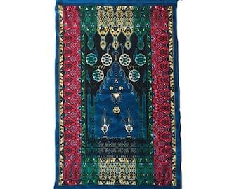 rad 70s velvet tapestry / rug