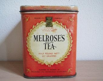 Melrose's Tea Tin
