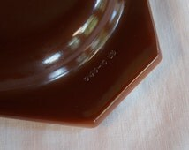 Brown Pyrex Casserole Lid, Oval Ovenware Kitchenware Lid Number 945-C-13, Old Orchard Casserole