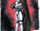 Captain Phasma from Star Wars The Force Awakens, Sketch
