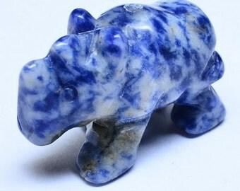 Sodalite Rhino Bead-New Reduced Price!!!
