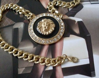 Jewelry Royal Lion Necklace  Newburystreetchic Collection We Ship Internationally