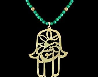 Hamsa Eshgh Necklace