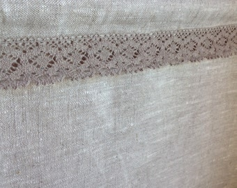 Cafe curtain / linen cafe curtain / Privacy curtain / flax linen curtain