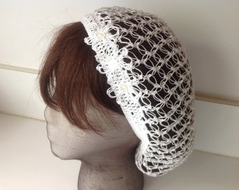 Snood, hair net, all cotton