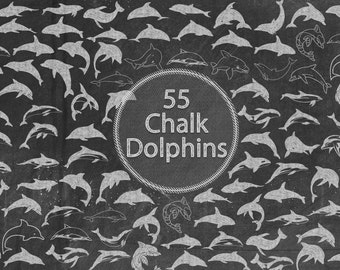 Chalk Dolphins
