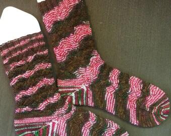 Handknit Socks - Women's size 7.5-10