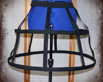 Basic short 2 hoop cage skirt