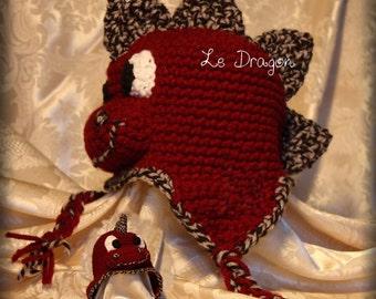 Hat, beanie, hat, Dragon hat