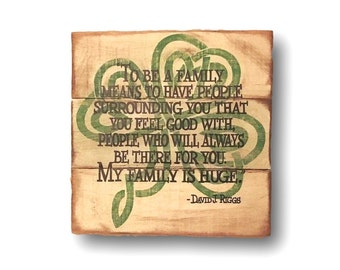 Celtic Family Wall Hanging