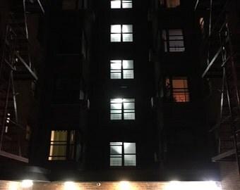 "Queens night jackson heights  8x10"" cprint photo"
