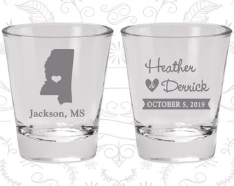 Mississippi Shot Glass, Mississippi Shot Glasses, Mississippi Glass, Mississippi Glasses, Mississippi Glassware (123)