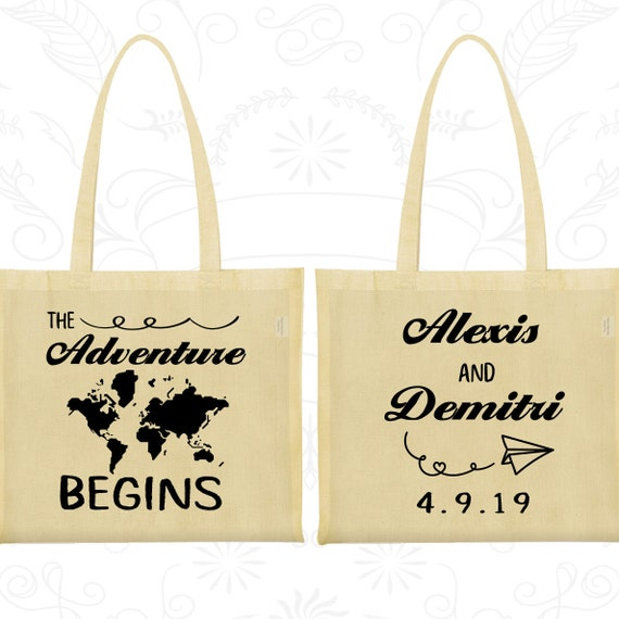 ... Bags, Destination Bags, Travel Wedding Bags, World Map, Welcome Tote