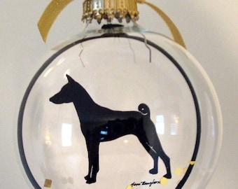 Basenji Ornament Dog Gifts for Dog Lovers