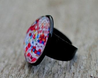 """Ring """"Sugar Pearls"""""""