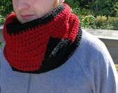 Star Trek Inspired Cowl, Star Trek Next Generation Uniform Scarf for Winter Wear