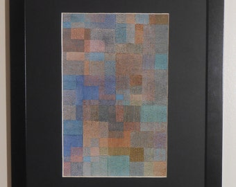 """Mounted and Framed - Polyphony Print by Paul Klee - 16"""" x 12"""""""