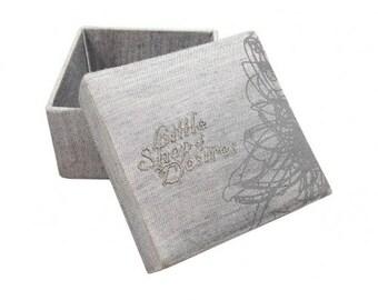 Wedding Favor Boxes Embridery Silk Boxes A Set Of 20