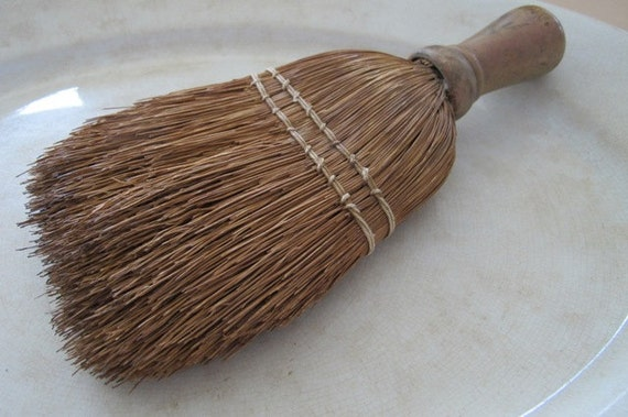 Vintage Whisk Broom Sweeping Brush Straw Broom Straw Whisk