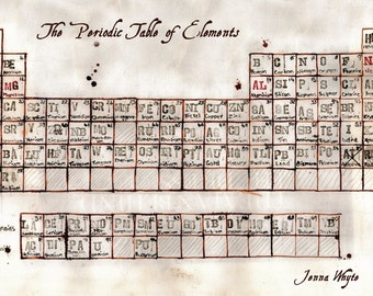 A3 Periodic Table