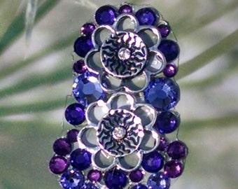 Purple Crystal Bindi