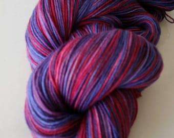 Hand dyed - Superwash merino wool yarn