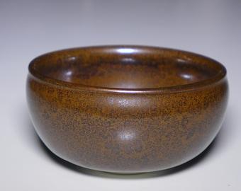 Oilspot bowl, porcelain