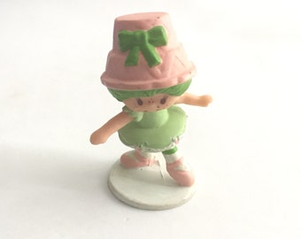Vintage Strawberry Shortcake Lime Chiffon Ballerina Mini PVC Figure