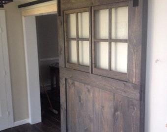 Custom barn door for Jennifer