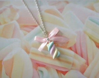 necklace marshmallow
