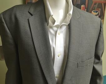 Vintage 1960s Don Draper Mad Men Two-Piece Suit