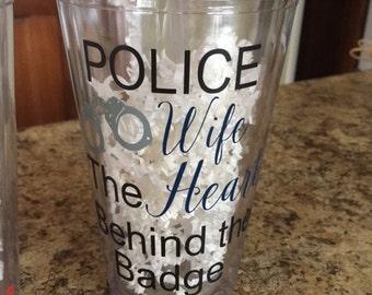 Police Wife Tumbler
