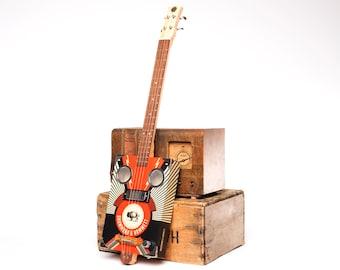 Drummond & Hammett 'Heavy Lightnin' Cigar Box Guitar