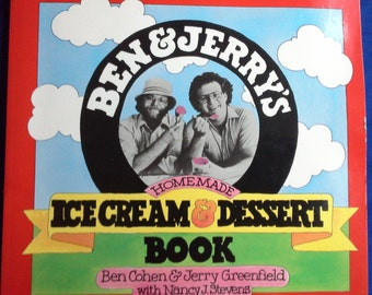 Ben and jerry's ice cream and dessert book