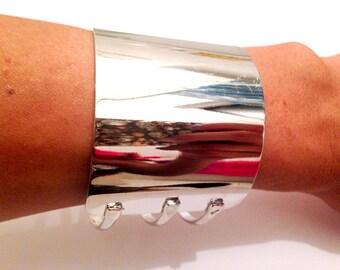 TRIPLE METAL CUFF Bracelet