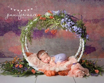 Newborn Baby Photography Prop Swing