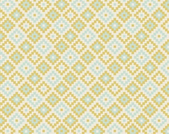 Woodland Spring Geometric Green - C4994-Green by Designs by Dani for Riley Blake Designs