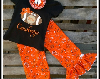 4T OSU Cowboys Sprit Outfit