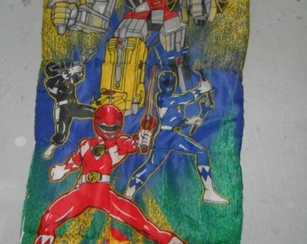 Power Ranger Bedding Etsy