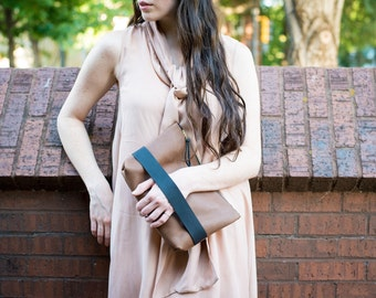 The Carolee Clutch // Cocoa