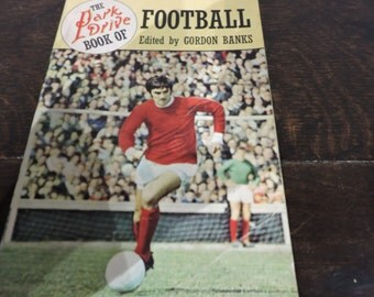 "Vintage ""The Park Drive Book Of Football""  book - 1968"
