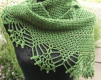 Corvus Shawl digital crochet pattern