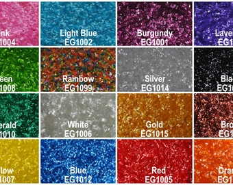 Edible Glitter Flakes (7 grams) Perfect for cakes, cupcakes, etc. Various colors available.